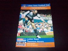 Luton Town v Tranmere Rovers, 2003/04
